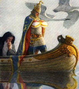 King Arthur and the Half-Man Story