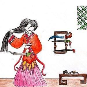 Mulan Kids Story Book