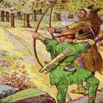 Robin Hood and the Golden Arrow Legend Story