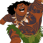 Moana's Maui the Demi-God