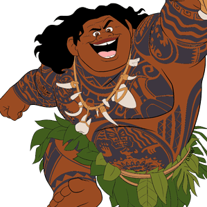 Demi-God Maui Moana